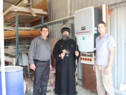 The team at St Shenouda Monastery
